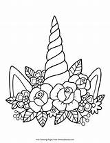 Unicorn Coloring Horn Printable Unicorns Flowers Sheets Pdf Primarygames Flower Adult Drawing Horns Cake Colouring Coloringpages Outline Zone Fabulous Roblox sketch template