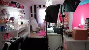 Beauty Room Tour   Filming Setup 2017