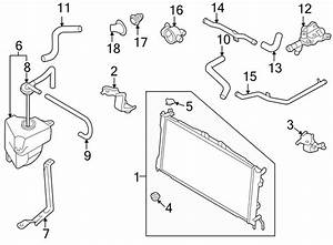 Mazda 626 Radiator  Radiator Assembly  Trans  Cooling