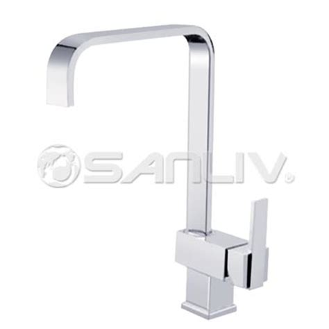square kitchen faucet square single handle kitchen faucet 67008 single handle