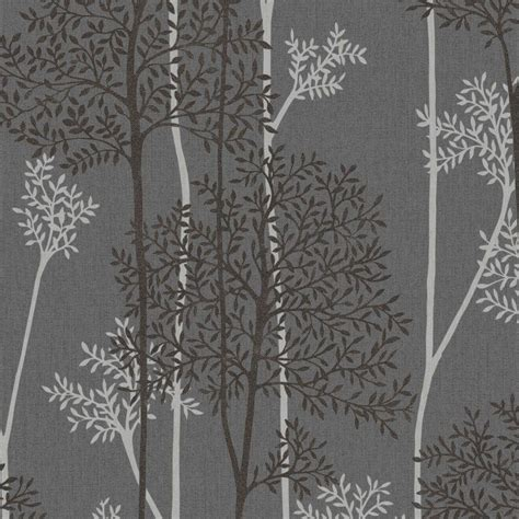graham brown charcoal  silver eternal wallpaper
