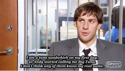 Jim Office Halpert Tuna Krasinski John Quotes