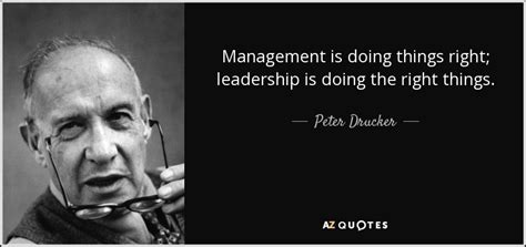 peter drucker quote management