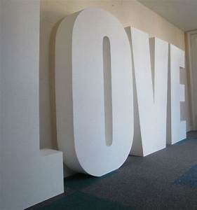 big polystyrene letters With giant letter signs