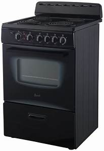 Avanti Er24p1bg 24 Inch Electric Range With Storage Drawer