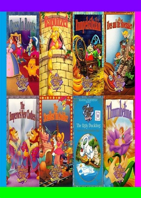 timeless tales  hallmark cartoon series