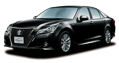 toyota motors japan toyota launches new 39 crown 39 series sedans in japan