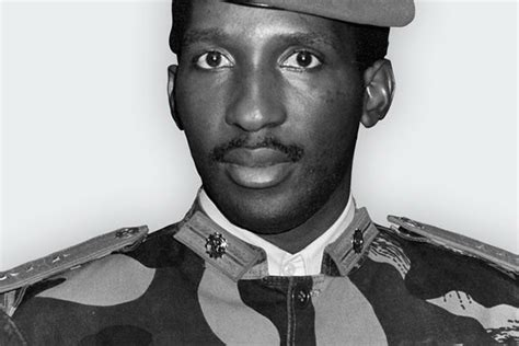 10 quotes from Thomas Sankara