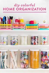 Diy, Colorful, Home, Organization