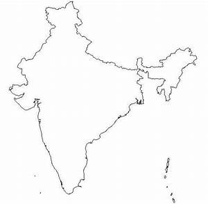 17 Blank Maps o... India Map Quotes