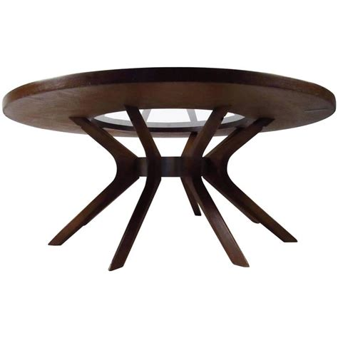 broyhill glass table ls mid century modern broyhill brasilia cathedral coffee