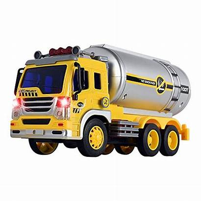 Tanker Toy Truck Wolvol Friction Sounds Powered