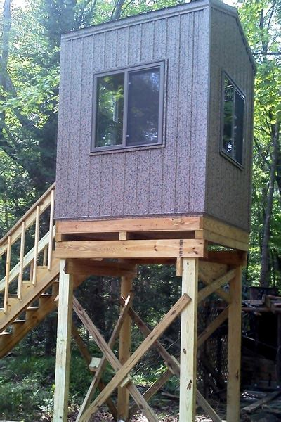 box blinds for custom deer stands cabins wisconsin landcrafters
