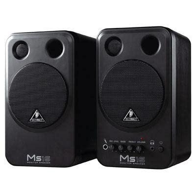 behringer monitor speakers ms16 djkit