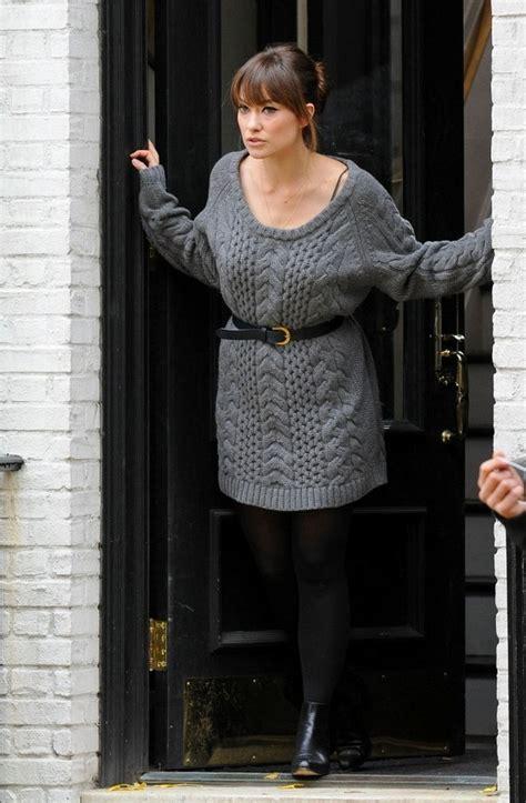 cozy  stylish sweater dresses  fall  pretty