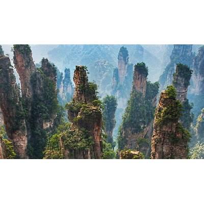 Zhangjiajie National Forest Park China - Most Beautiful Spots