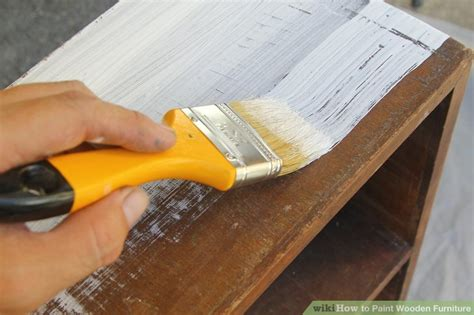 ways  paint wooden furniture wikihow