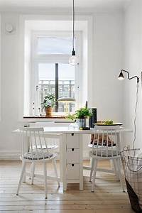 25 Ways To Use IKEA Norden Gateleg Table In Dcor DigsDigs