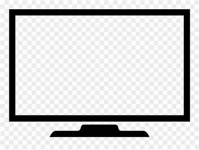 Icon Screen Tv Computer Clipart Television Monitors