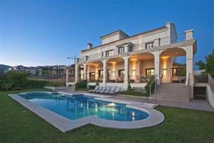 luxury home plans the beautiful casa villa flamingo in marbella spain