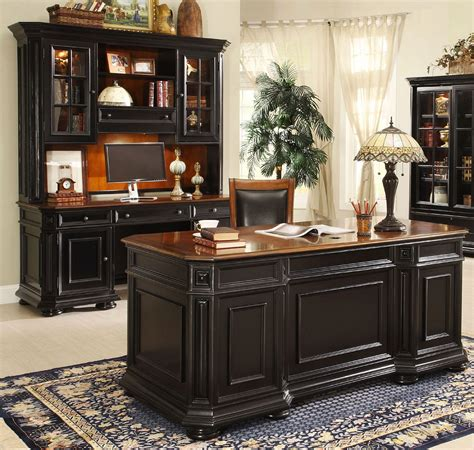 allegro executive home office desk set  riverside home