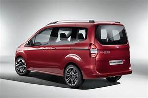 Ford Debuts Tourneo Courier  Custom And Connect Vans In