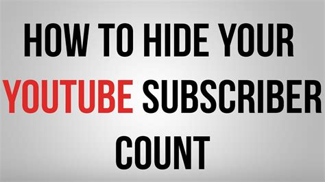 How To Hide Your Subscribers!  Youtube. Living Room Christmas Decorations Pinterest. Living Room Decor Ideas With Black Couches. Contemporary Living Room With Black Leather Sofa. Black Living Room Chair With Ottoman. The Living Room In Edinburgh. Persian Rug Living Room Ideas. Houzz Living Room Apartment. Living Room Art Toronto
