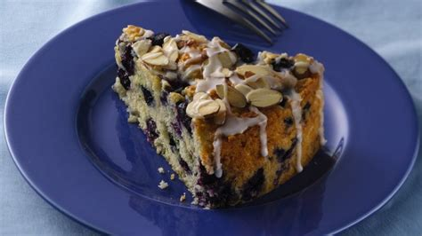 If you're fond of the fabulous yet underrated duo of lemon and blueberries, then this vegan protein coffee cake is a must try. Luscious Lemon-Blueberry Coffee Cake recipe from Betty Crocker