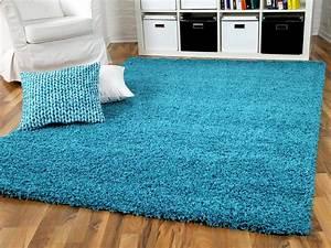 Teppich Hochflor Blau : teppich gr n blau ~ Indierocktalk.com Haus und Dekorationen