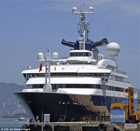 Largest Boat by World S Largest Yacht Set To Stand 222metres And Cost