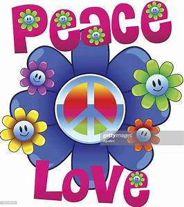Love And Peace : colorful peace and love illustration with flowers high res ~ A.2002-acura-tl-radio.info Haus und Dekorationen