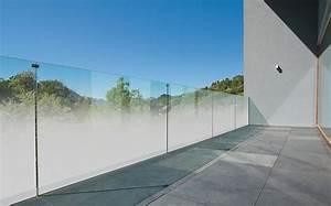 Sichtschutz Für Balkongeländer : teilsatiniertes madras nuvola jetzt auch f r balkongel nder aus glas ~ Markanthonyermac.com Haus und Dekorationen