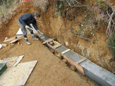how to make concrete retaining wall making a block retaining wall part 1 ady s garden