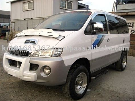 Hyundai Starex Modification by Hyundai Starex 4wd Best Photos And Information Of