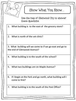 second grade social studies common core aligned geography unit tpt