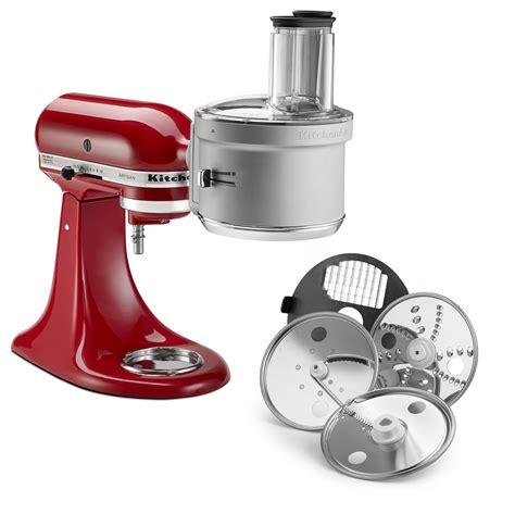 kitchenaid mixer attachments stand processor food kitchen attachment kit accessories robot dicing mixers accessori exactslice julienne base le features