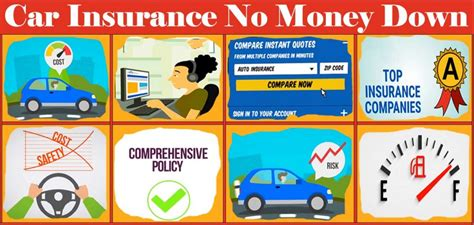 Finding the best auto insurance with no upfront payment has never been so easy. Car Insurance No Money Down - Car Insurance No Money Down