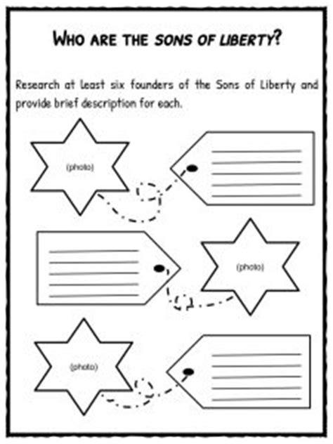 american revolution facts worksheets  kids