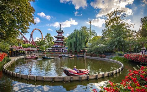 Tivoli Gardens, Copenhagen - Tourist Destinations