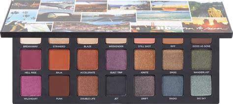 urban decay cosmetics born  run eyeshadow palette ulta