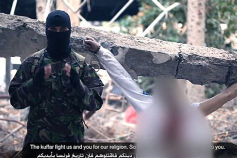 Sick ISIS beheading tutorial shows how to execute a Brits