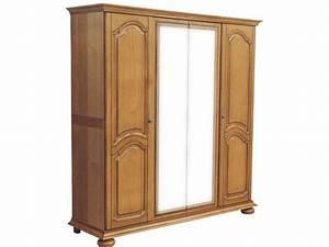 Armoire 4 Portes : armoire 4 portes romana conforama pickture ~ Teatrodelosmanantiales.com Idées de Décoration