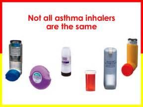 Different Types Asthma Inhalers