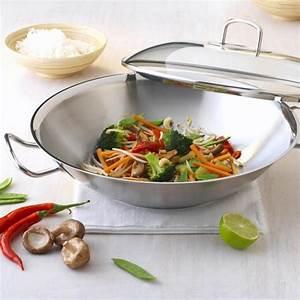 Wok Für Elektroherd : fissler original profi collection wok mit glasdeckel 35cm online kaufen online shop ~ Markanthonyermac.com Haus und Dekorationen