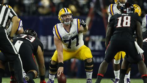 seattle seahawks select lsu offensive lineman ethan pocic