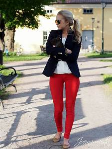 Jonnamaista u2013 Outfit With Red Pants