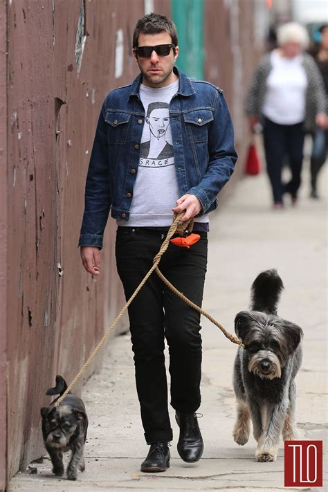 zachary quinto home zachary quinto in nyc tom lorenzo