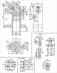 6 fuel pump machine drawing book With fuel pump drawing