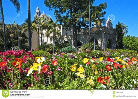 springtime in balboa park royalty free stock images
