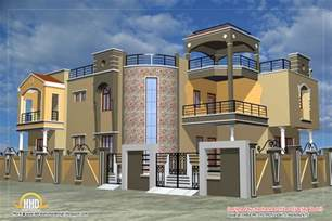 luxurious home plans luxury indian home design with house plan 4200 sq ft